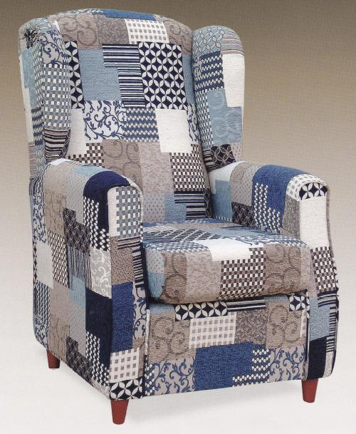 Sill n patchwork invierno muebles montalco for Muebles patchwork