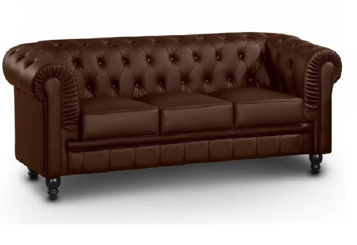 Chester 3 plazas muebles montalco for Sofas chesterfield baratos