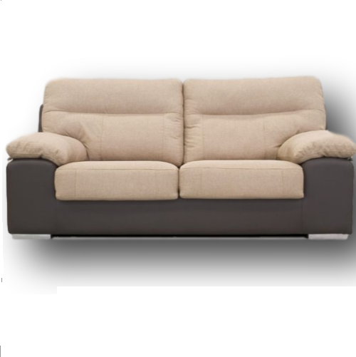 Sof uri 2 plazas muebles montalco for Sofa 2 plazas polipiel